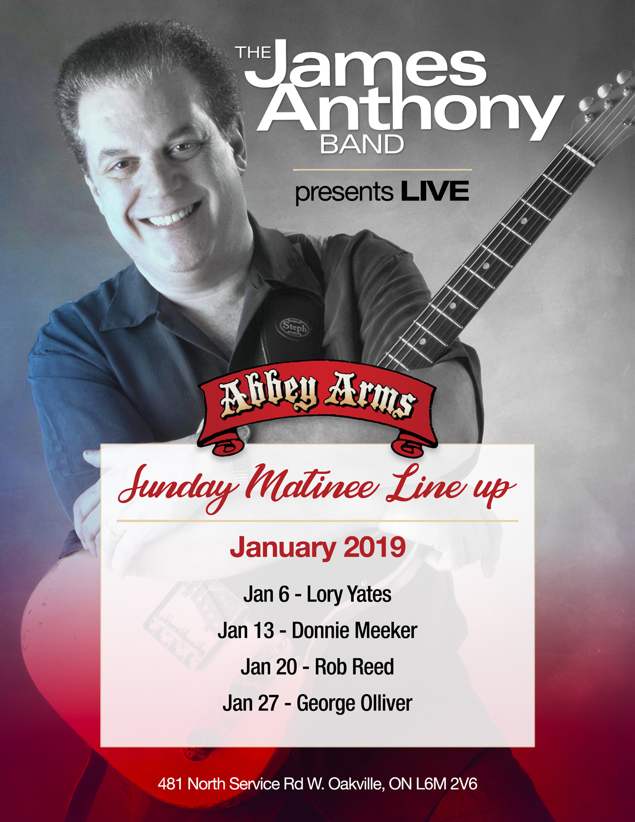 The James Anthony Band