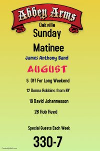 James Anthony - Sunday Matinee with David Johannesson